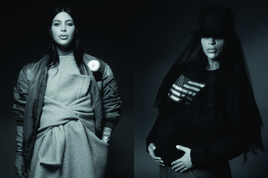 Kim Kardashian for CR Fashion Book Issue 3