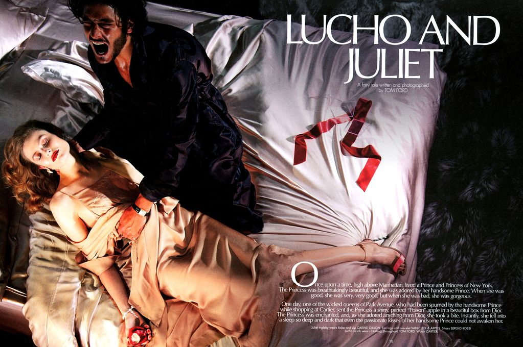 The making of Lucho & Juliet, a fairy tale written and photographed by Tom Ford