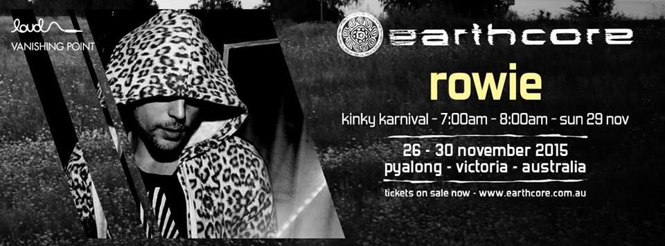 ROWIE Live @ earthcore '15 (recorded DJ set)